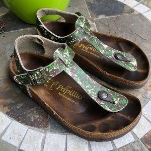 Birkenstock Papillio Ankle Strap Thong Sandals